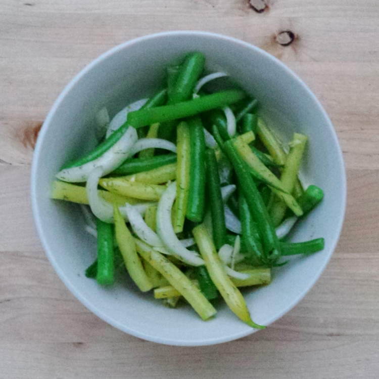 Marinated Green Beans - Vegetal Matters
