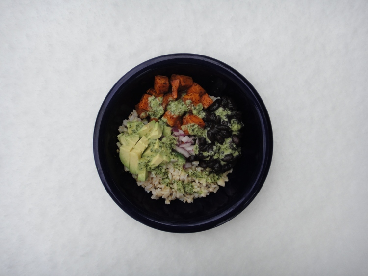 Vegetal Matters - Burrito Bowls with Green Sauce