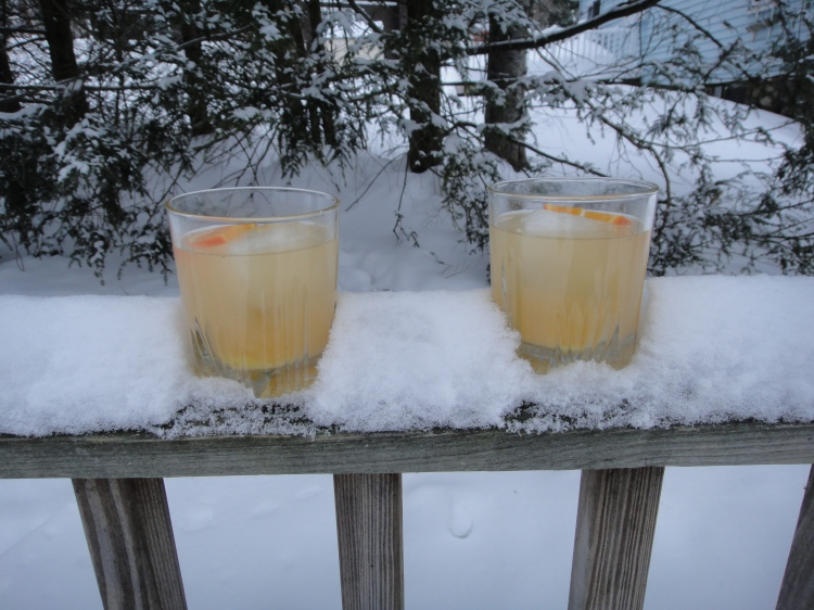 February Light - Citrus Cocktail