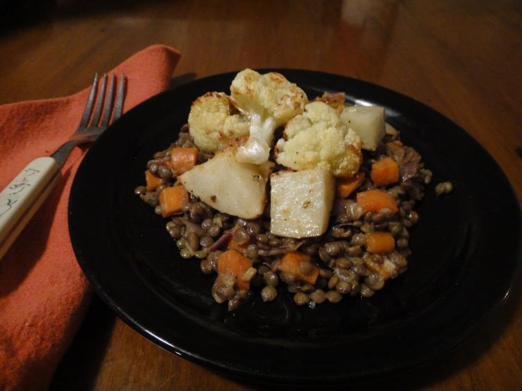 Vegetal Matters - Dijon Lentils