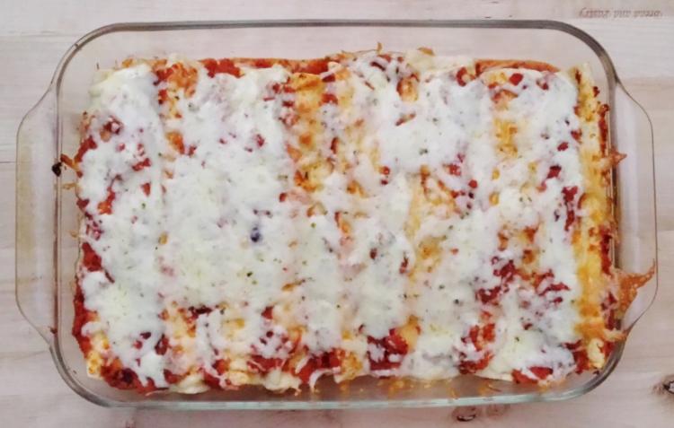 Corn, Zucchini, and Black Bean Enchiladas - Vegetal Matters