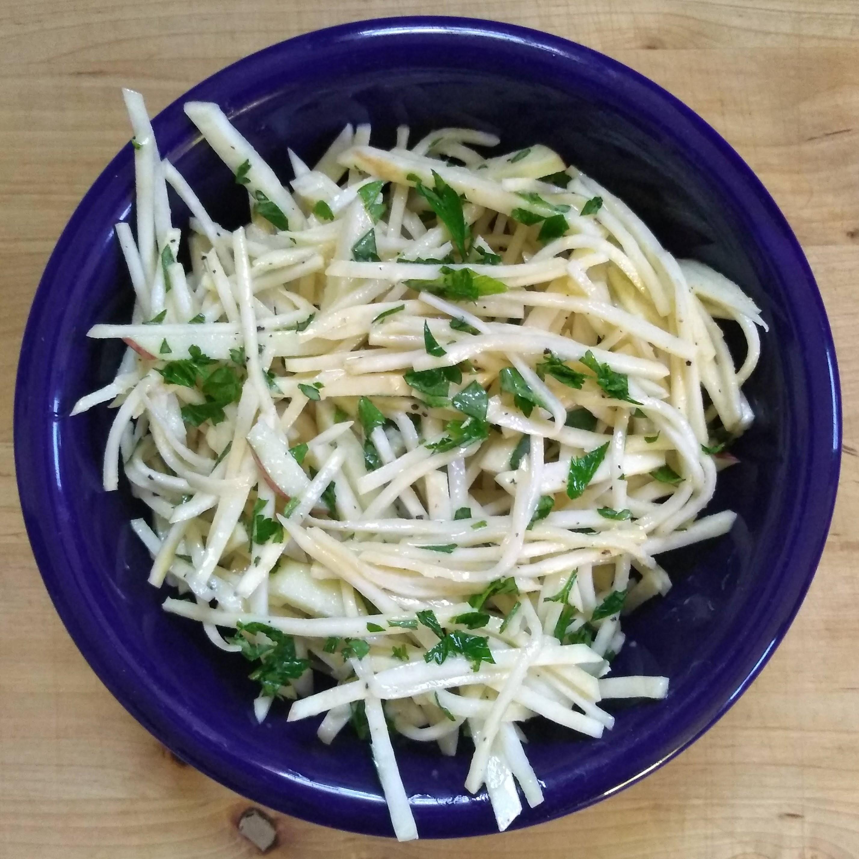 celeriac slaw