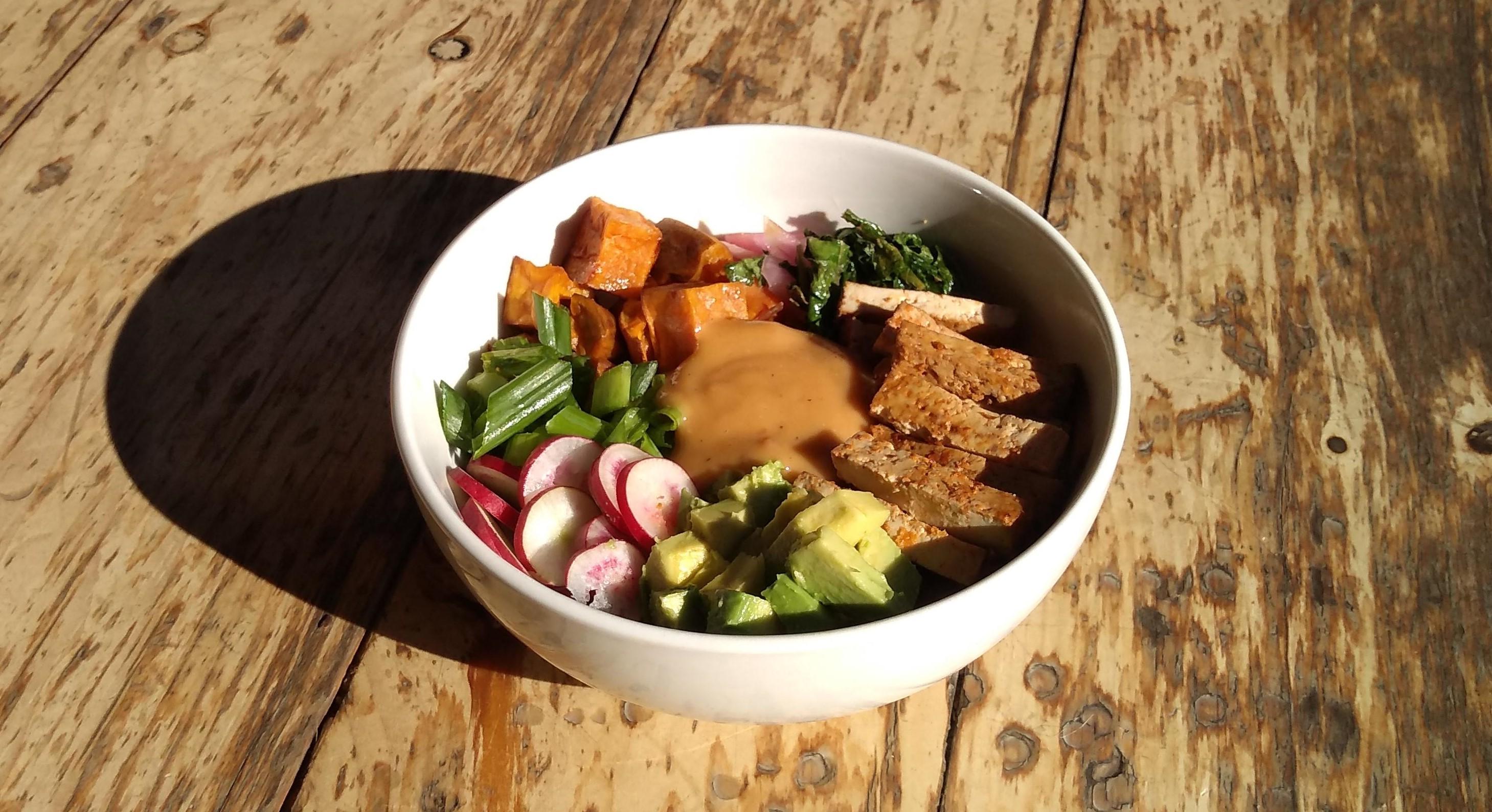 tofu bowl 2